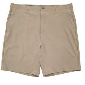 Performance Flat Front Flex Waistband Shorts 42 NW